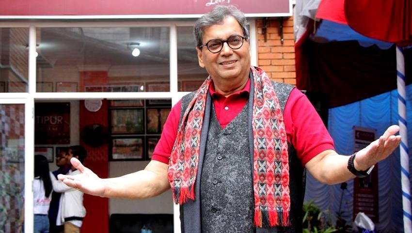 काठमाडाैंमा फिल्म सिकाउँदै सुभाष घर्इ