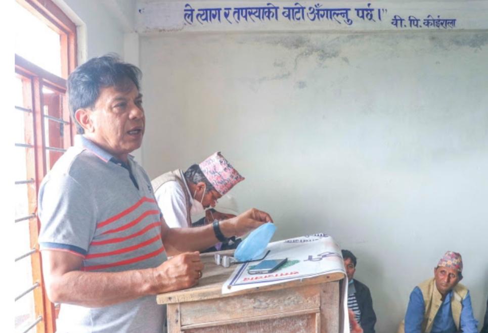 नेपाली काँग्रेसका केन्द्रिय सदस्य जोशीको कार्यकर्तालाई आग्रह– 'कुनै गुटमा नलाग्नुहोस, गाउँगाउँ जानुहोस् र स्थानीय तह बलियो बनाउनुहोस्'